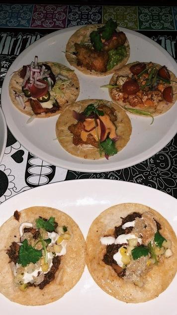 Assortment of tacos at Los Lobos. Source: Savannah Hamelin