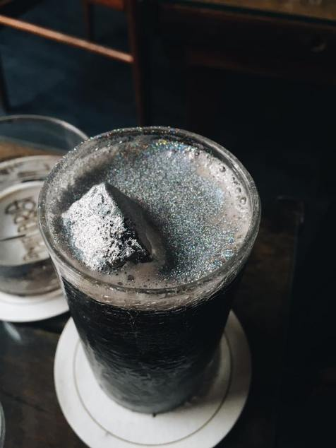 Glitter cocktail. Source: Savannah Hamelin