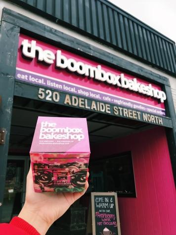 The Boombox Bakeshop exterior. Source: Savannah Hamelin