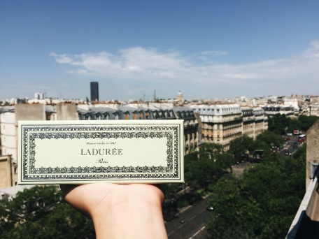 Ladurée box. Source: Savannah Hamelin