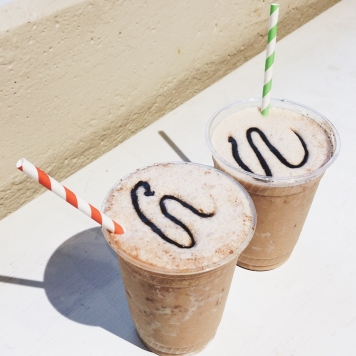 Special mocha mint ice drink. Source: Savannah Hamelin