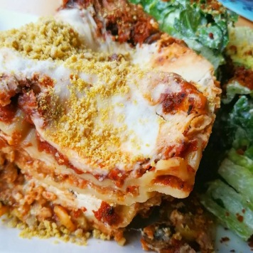 Lasagna special. Source: Plant Matter Café